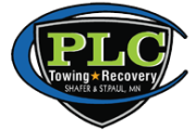 PLC Towing and Recovery Logo
